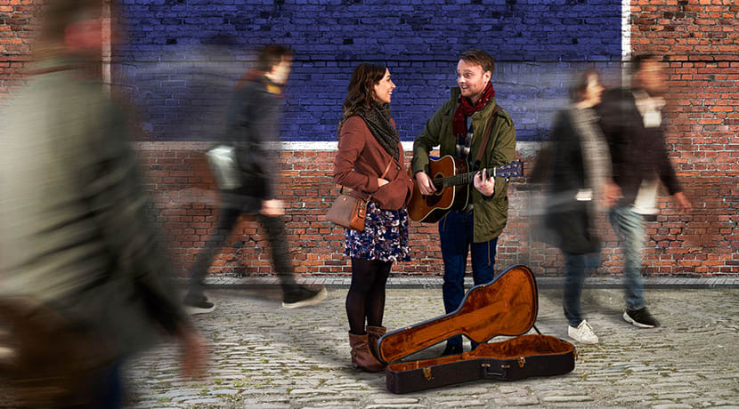 New recording of Falling Slowly released as the multi award-winning musical Once heads to The Midlands