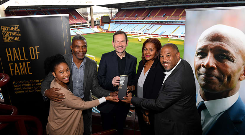Cyrille Regis joins legends in National Football Museum's Hall Of Fame