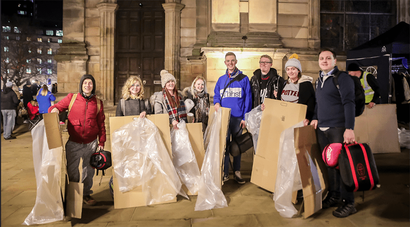 St Basils organise Big Brum SleepOut in Cathedral Square to help tackle homelessness