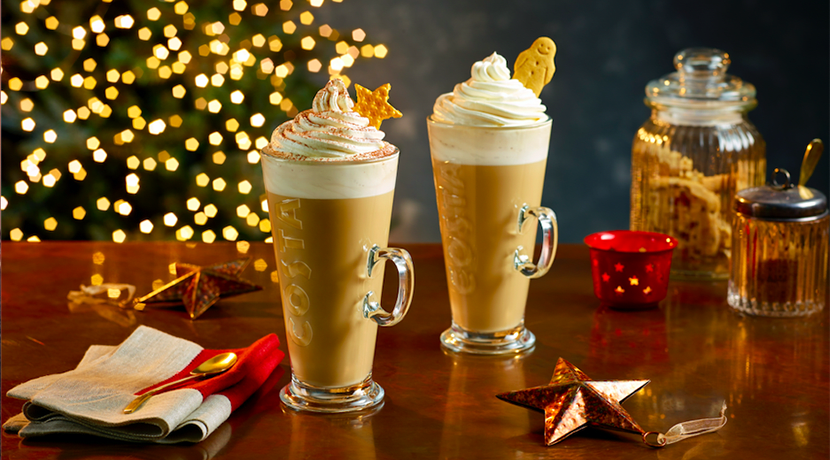 Costa reveal 2019 Christmas menu which includes a new Irish Velvet range