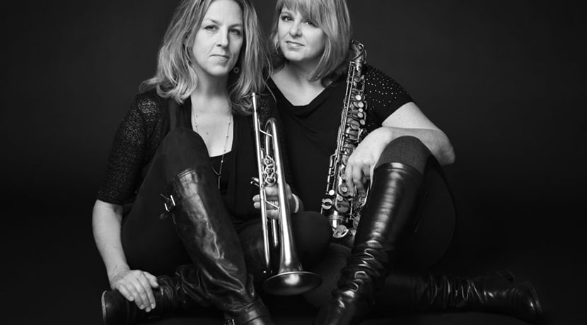 Ingrid & Christine Jensen with the Whirlwind Recordings Jazz Orchestra