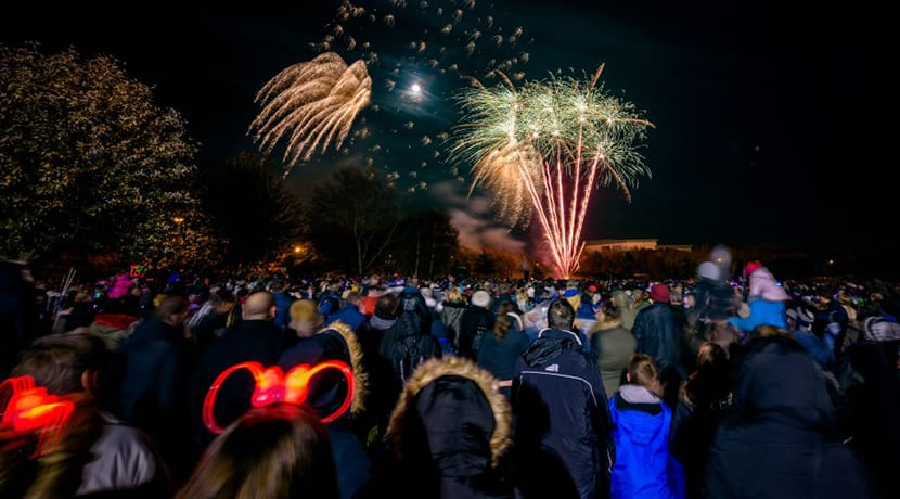Tamworth's free fireworks return for another explosive display