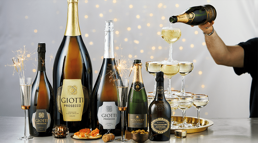 Aldi's six litre bottle of prosecco is back this Christmas