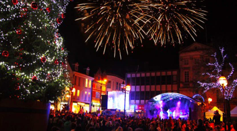 Stafford lights switch on honours local heroes