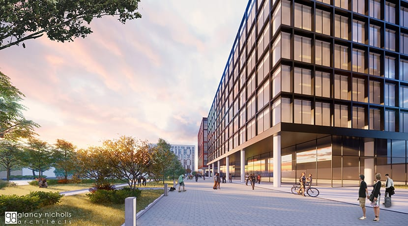 Fresh plans for £90m apartments scheme published