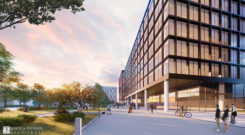 Fresh plans for £90m apartments scheme published