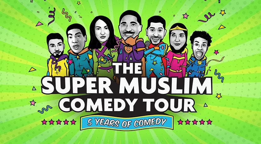 Super Muslim Comedy Tour comes to Birmingham