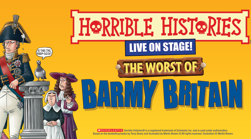 Horrible Histories – The Worst of Barmy Britain