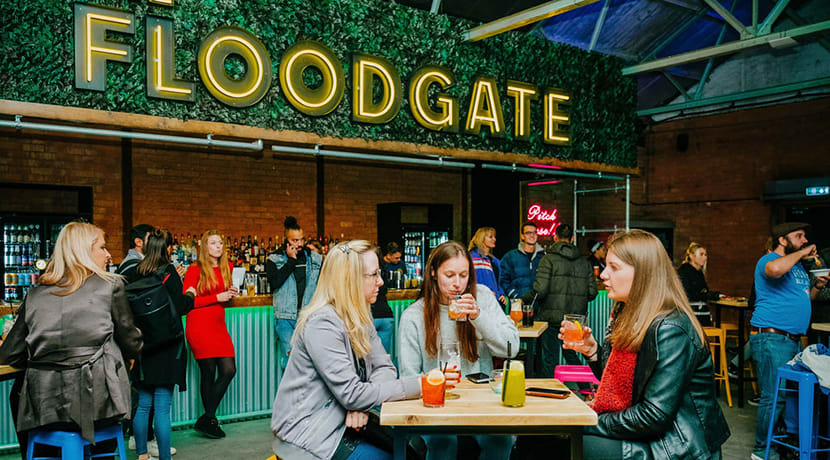Introducing the The Floodgate... a brand new experimental entertainment venue and bar