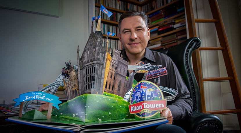 The world of David Walliams comes to Alton Towers