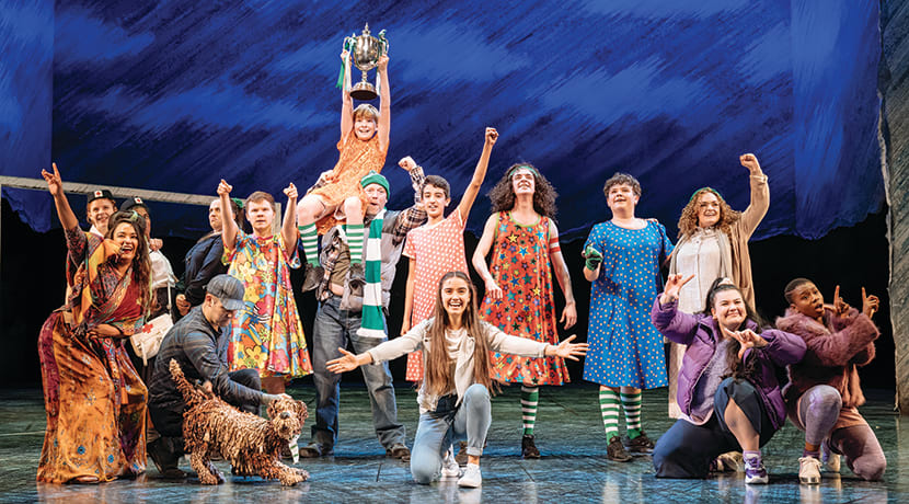 The RSC's Boy In The Dress is fun, fast, lively, colourful, clever and utterly absorbing