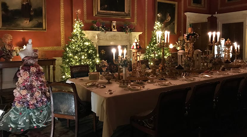 Christmas at Attingham inspired by nature