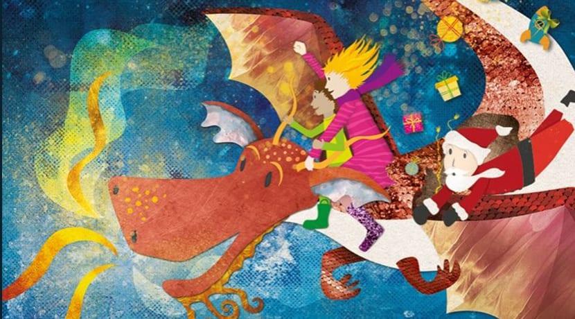 Santa and The Christmas Dragon