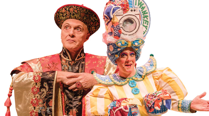 It Takes Two - We ask Aladdin's Eric Smith and Brad Fitt about their festive sidekick...
