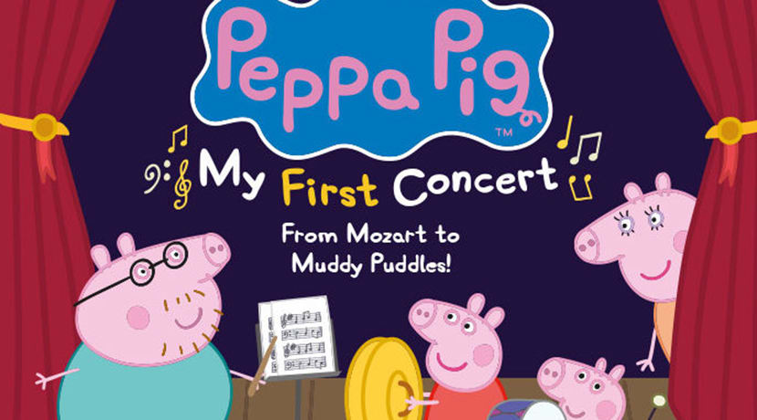 Peppa Pig - My First Concert comes to Birmingham in 2020