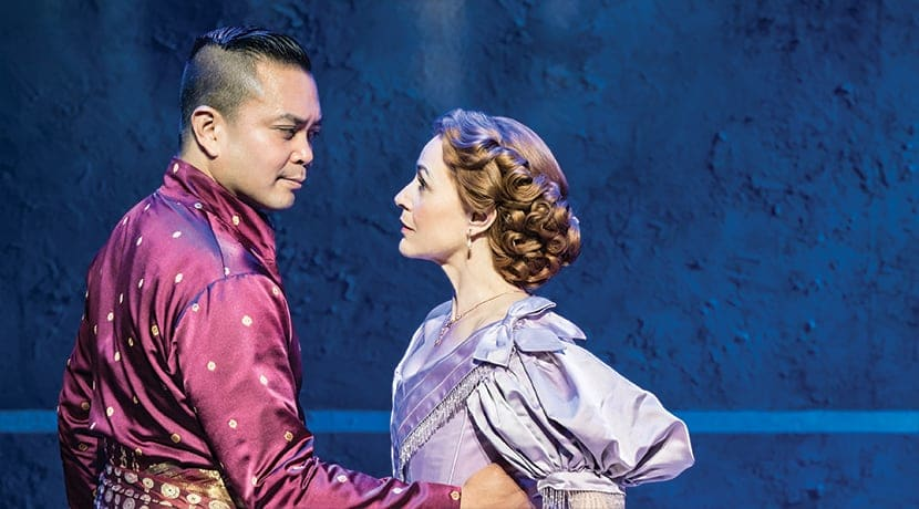 "The King and I presented in ""spectacular fashion"" at the Alexandra in Birmingham"