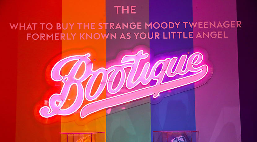 Boots opens pop-up 'bootique' in Birmingham - the tween capital of the UK