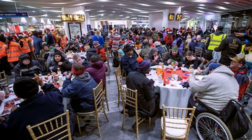 Birmingham New Street station to host free Christmas Eve dinner for the homeless