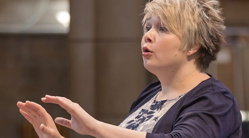 Ex Cathedra announces Hilary Campbell as Associate Conductor