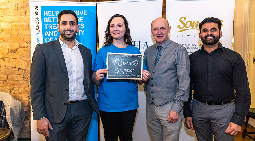 Parkinson's UK launches Birmingham's second Secret Supper – and it'll be bigger than before!