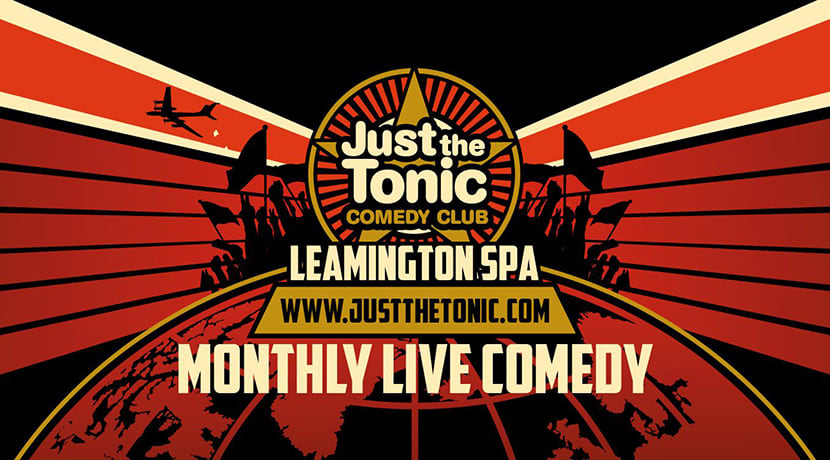 Just The Tonic comedy club launch new venue in Leamington Spa