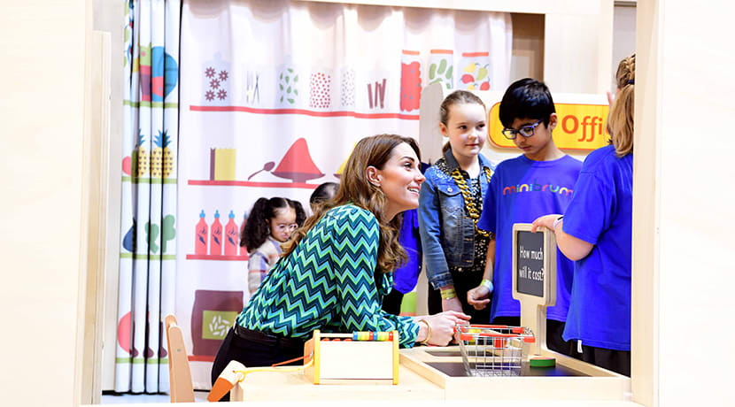 The Duchess of Cambridge visits Thinktank to launch landmark survey