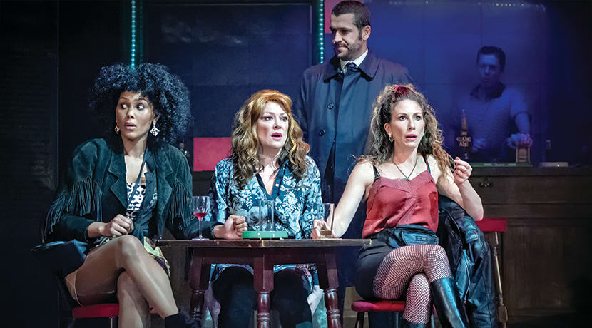 Kay Mellor has adapted hit 1990s television series Band Of Gold for the stage...