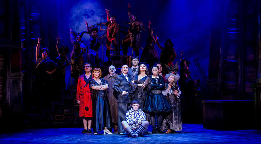 A new UK tour of The Addams Family is coming to Birmingham