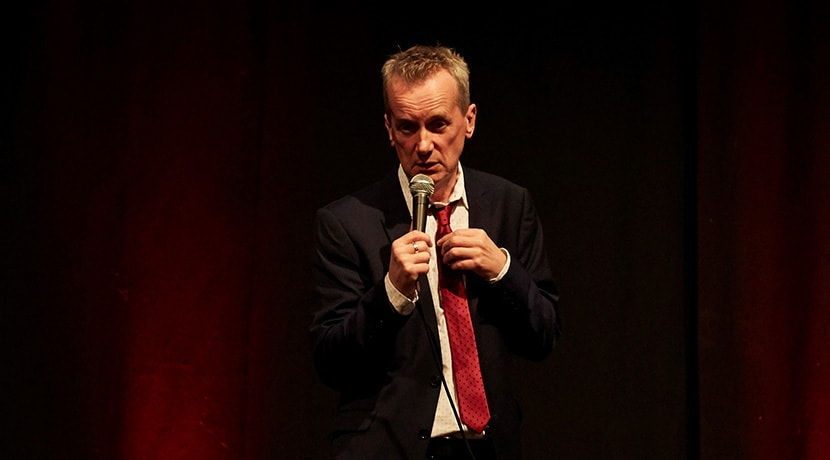 Frank Skinner brings his Showbiz tour to Birmingham