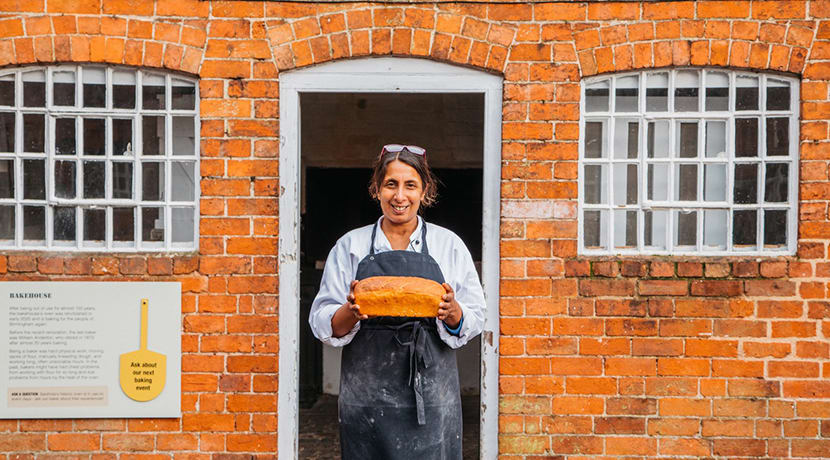 A new modern-day bakery has opened has opened at Sarehole Mill