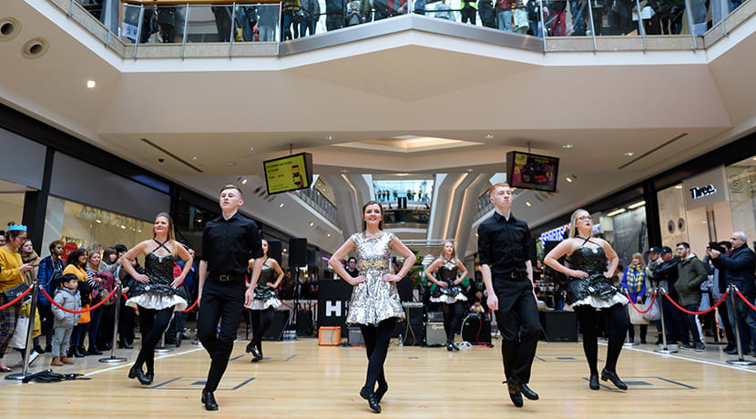 Join Bullring & Grand Central for the ultimate St Patrick's Day warm-up party