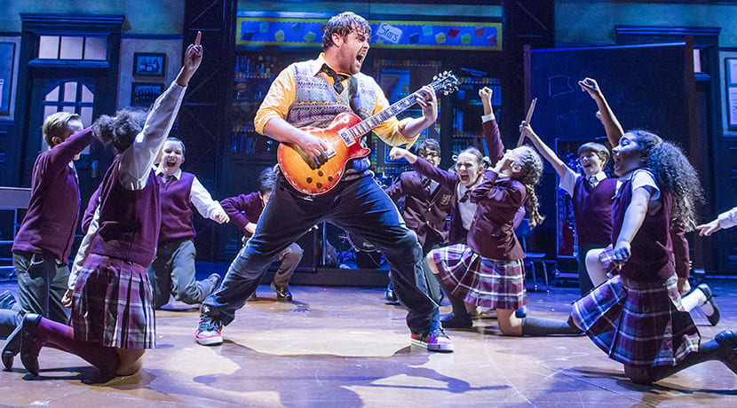 School of Rock - The Musical lands in Birmingham in 2021