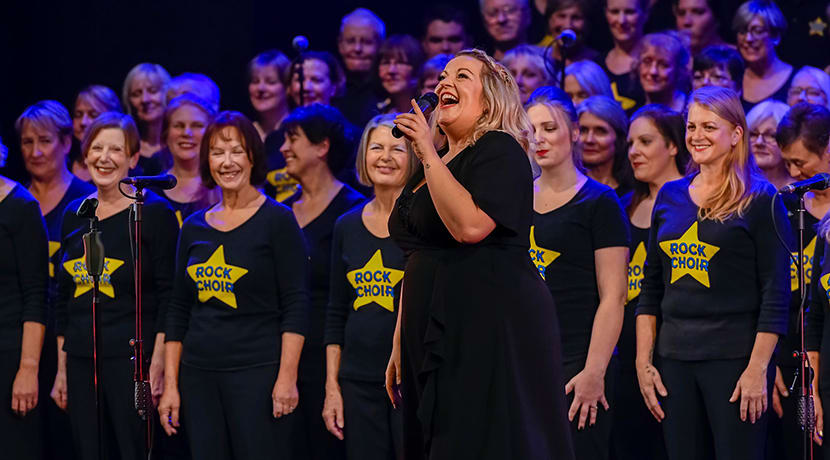 The UK's largest contemporary choir announce daily sing for the public to join in with