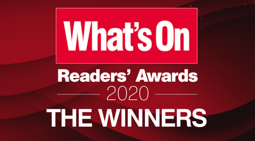 What's On Readers' Awards 2020: The Winners