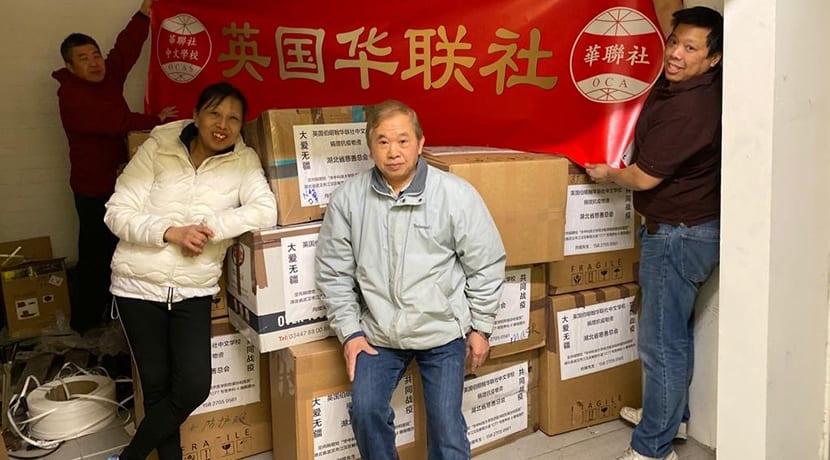 Southside BID chair James Wong donates vital supplies to local NHS