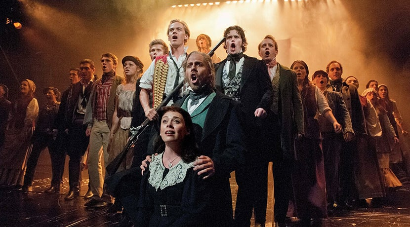 Star of West End favourite Les Mis to live stream solo concert