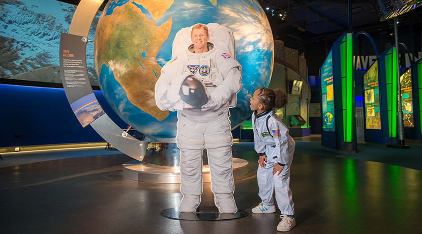 The National Space Centre launches online to help educate families during lockdown