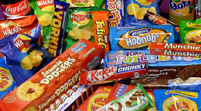 The average Brit will consume nearly 70,000 snacks in their lifetime