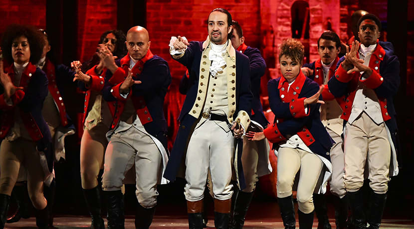 Filmed performance of hit musical Hamilton to premiere on Disney+ next week