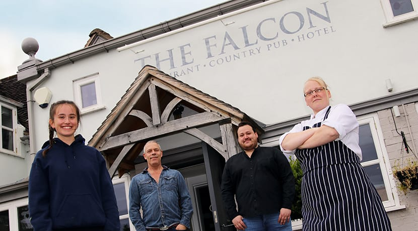 The Falcon at Hatton to reopen on 4 July with new look and safety measures