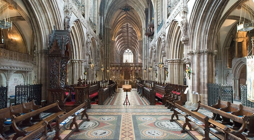 Lichfield Cathedral gets ready to welcome back visitors