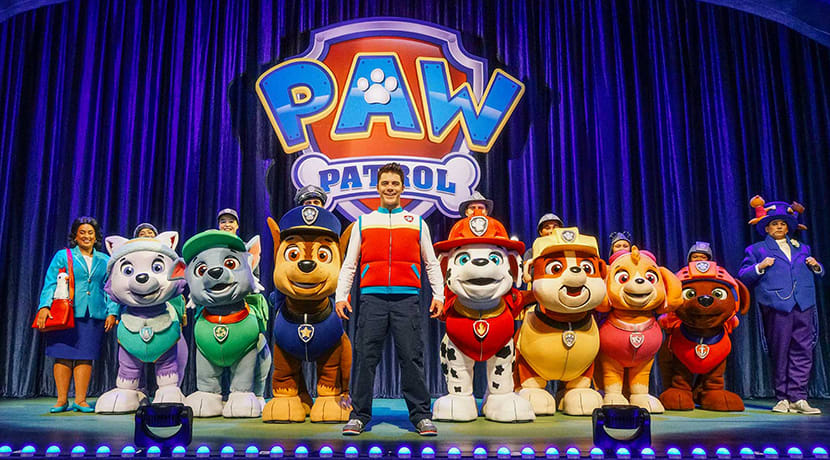 PAW Patrol Live returns to the Midlands in 2021