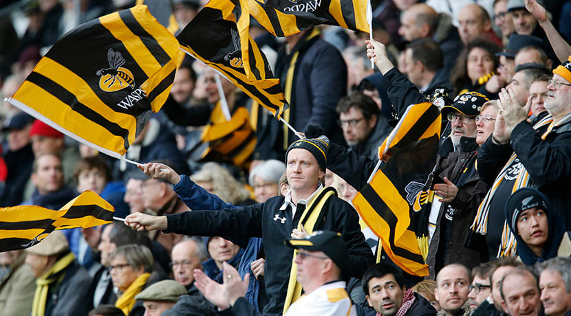 Wasps fixtures announced for resumption of season