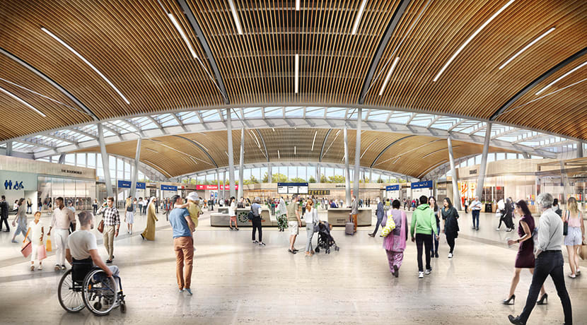 Designs for Birmingham International Station project revealed