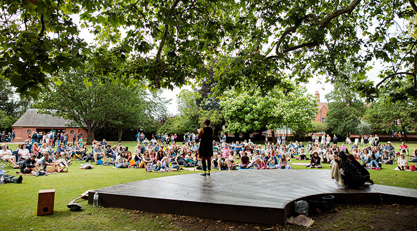 Royal Shakespeare Company announces  August outdoor pop-up Shakespeare performances