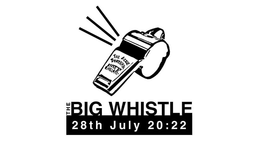 The Big Whistle is coming to Birmingham in 2022