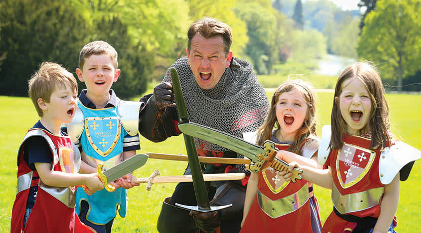 A perfect family day out at Warwickshire's top visitor attraction Warwick Castle