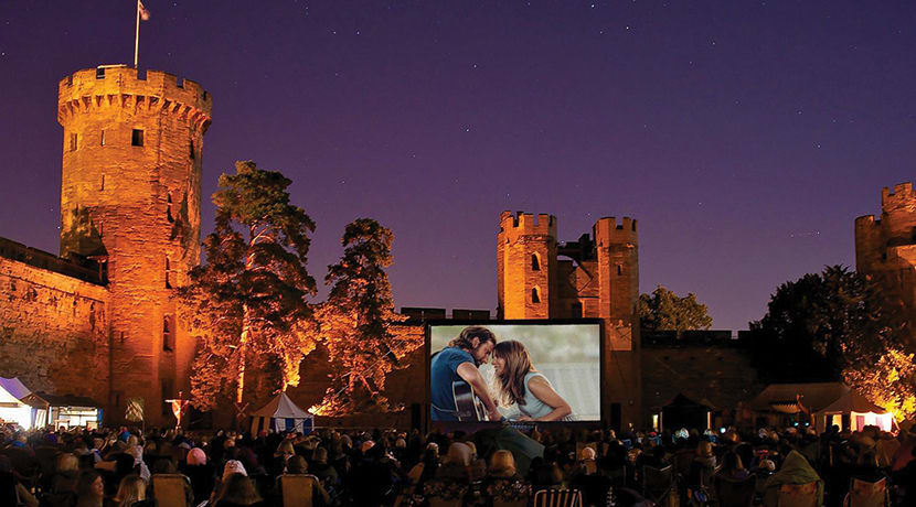At The Drive-in - Watching your cinematic favourites outdoors is the latest craze