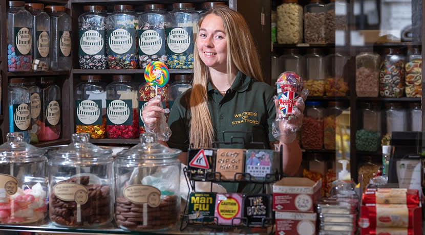 Traditional Stratford-upon-Avon sweet shop rebrands and becomes an independent