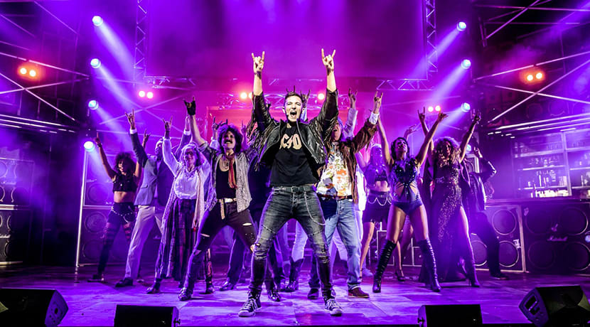 Award-winning smash-hit musical Rock Of Ages bring 2021 tour to the Midlands